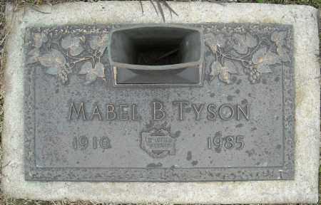 TYSON, MABEL B. - Faulkner County, Arkansas | MABEL B. TYSON - Arkansas Gravestone Photos