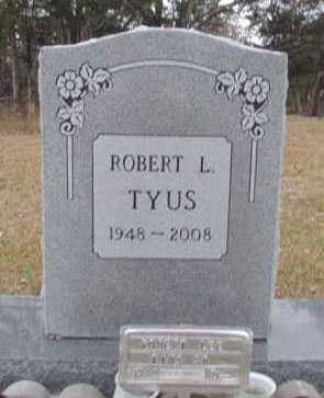 TYUS, ROBERT L - Faulkner County, Arkansas | ROBERT L TYUS - Arkansas Gravestone Photos