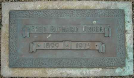 UNGER, FRED RICHARD - Faulkner County, Arkansas   FRED RICHARD UNGER - Arkansas Gravestone Photos