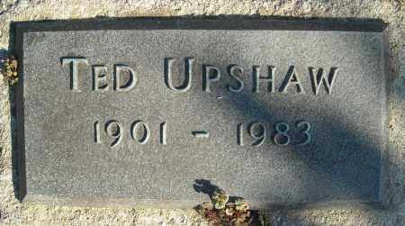 UPSHAW, TED - Faulkner County, Arkansas | TED UPSHAW - Arkansas Gravestone Photos