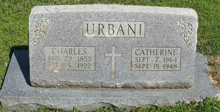 URBANI, CATHERINE - Faulkner County, Arkansas | CATHERINE URBANI - Arkansas Gravestone Photos