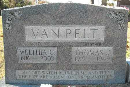 VANPELT, THOMAS J. - Faulkner County, Arkansas | THOMAS J. VANPELT - Arkansas Gravestone Photos