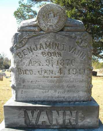 VANN, BENJAMIN T. - Faulkner County, Arkansas | BENJAMIN T. VANN - Arkansas Gravestone Photos