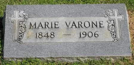 VARONE, MARIE - Faulkner County, Arkansas | MARIE VARONE - Arkansas Gravestone Photos