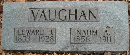 VAUGHAN, EDWARD J. - Faulkner County, Arkansas | EDWARD J. VAUGHAN - Arkansas Gravestone Photos