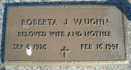 VAUGHN, ROBERTA J. - Faulkner County, Arkansas | ROBERTA J. VAUGHN - Arkansas Gravestone Photos
