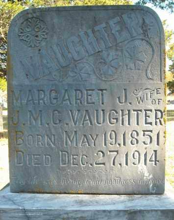 VAUGHTER, MARGARET J. - Faulkner County, Arkansas | MARGARET J. VAUGHTER - Arkansas Gravestone Photos