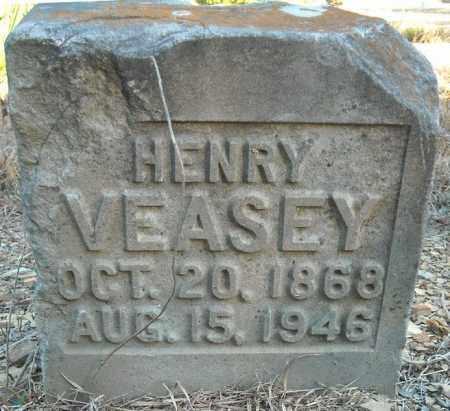 VEASEY, HENRY - Faulkner County, Arkansas | HENRY VEASEY - Arkansas Gravestone Photos