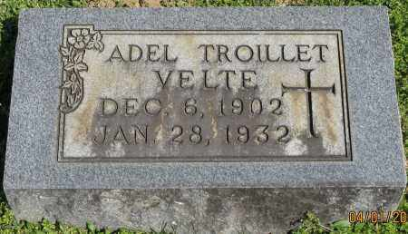 VELTE, ADEL - Faulkner County, Arkansas | ADEL VELTE - Arkansas Gravestone Photos