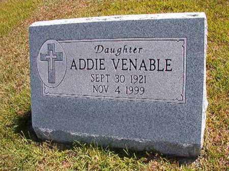 VENABLE, ADDIE ORENE - Faulkner County, Arkansas | ADDIE ORENE VENABLE - Arkansas Gravestone Photos