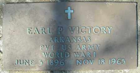VICTORY (VETERAN WWI), EARL P - Faulkner County, Arkansas | EARL P VICTORY (VETERAN WWI) - Arkansas Gravestone Photos