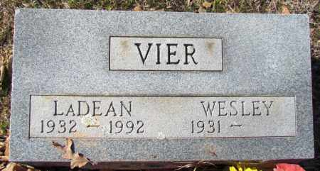 VIER, LADEAN - Faulkner County, Arkansas | LADEAN VIER - Arkansas Gravestone Photos