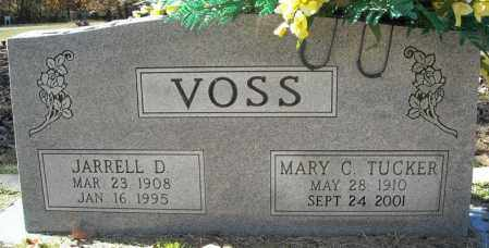 VOSS, MARY CATHRINE - Faulkner County, Arkansas | MARY CATHRINE VOSS - Arkansas Gravestone Photos