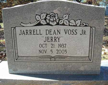 "VOSS, JR., JARRELL DEAN ""JERRY"" - Faulkner County, Arkansas 