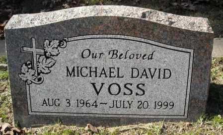 VOSS, MICHAEL DAVID - Faulkner County, Arkansas | MICHAEL DAVID VOSS - Arkansas Gravestone Photos