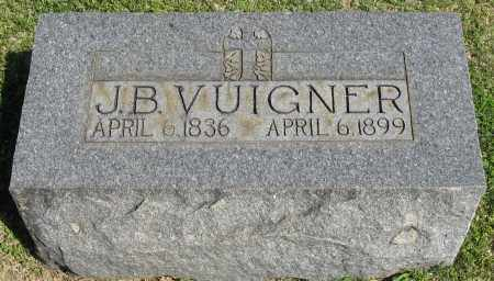 VUIGNER, J.B. - Faulkner County, Arkansas | J.B. VUIGNER - Arkansas Gravestone Photos