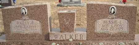 WALKER, RAILEY R. - Faulkner County, Arkansas | RAILEY R. WALKER - Arkansas Gravestone Photos