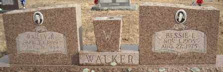 WALKER, BESSIE I. - Faulkner County, Arkansas | BESSIE I. WALKER - Arkansas Gravestone Photos