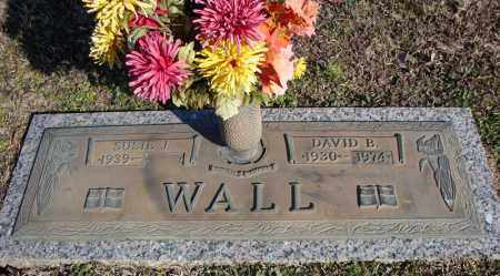 WALL, DAVID B. - Faulkner County, Arkansas | DAVID B. WALL - Arkansas Gravestone Photos