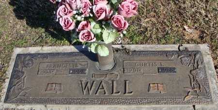 WALL, FRANCES B. - Faulkner County, Arkansas | FRANCES B. WALL - Arkansas Gravestone Photos