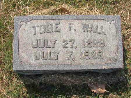 WALL, TOBE F. - Faulkner County, Arkansas | TOBE F. WALL - Arkansas Gravestone Photos