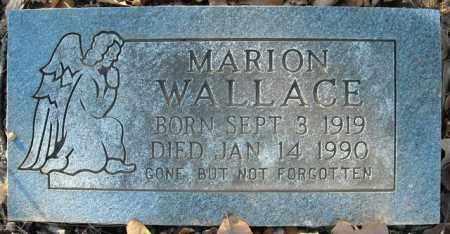 WALLACE, MARION - Faulkner County, Arkansas   MARION WALLACE - Arkansas Gravestone Photos