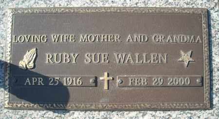 WALLEN, RUBY SUE - Faulkner County, Arkansas | RUBY SUE WALLEN - Arkansas Gravestone Photos
