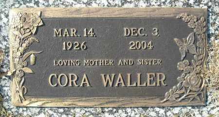 WALLER, CORA - Faulkner County, Arkansas   CORA WALLER - Arkansas Gravestone Photos