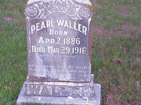 WALLER, PEARL - Faulkner County, Arkansas | PEARL WALLER - Arkansas Gravestone Photos