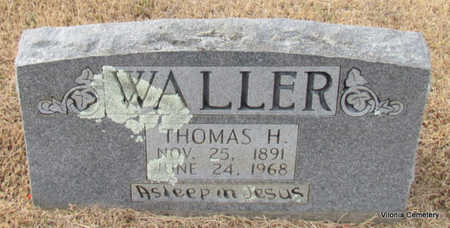 WALLER, THOMAS H - Faulkner County, Arkansas | THOMAS H WALLER - Arkansas Gravestone Photos