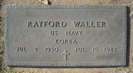 WALLER (VETERAN KOR), RAYFORD - Faulkner County, Arkansas | RAYFORD WALLER (VETERAN KOR) - Arkansas Gravestone Photos