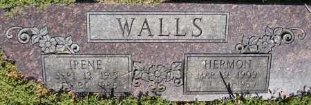 WALLS, HERMON - Faulkner County, Arkansas | HERMON WALLS - Arkansas Gravestone Photos