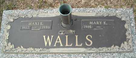 WALLS, MAXIE - Faulkner County, Arkansas | MAXIE WALLS - Arkansas Gravestone Photos