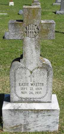 WALTER, KATIE - Faulkner County, Arkansas | KATIE WALTER - Arkansas Gravestone Photos