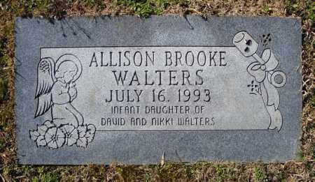 WALTERS, ALLISON BROOKE - Faulkner County, Arkansas | ALLISON BROOKE WALTERS - Arkansas Gravestone Photos