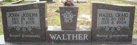 CRAIG WALTHER, HAZEL - Faulkner County, Arkansas | HAZEL CRAIG WALTHER - Arkansas Gravestone Photos