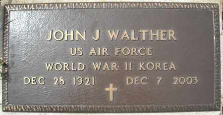 WALTHER (VETERAN 2 WARS), JOHN J - Faulkner County, Arkansas | JOHN J WALTHER (VETERAN 2 WARS) - Arkansas Gravestone Photos