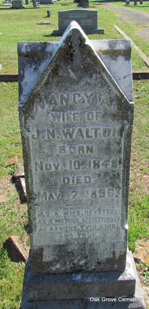WALTON, NANCY A. - Faulkner County, Arkansas | NANCY A. WALTON - Arkansas Gravestone Photos