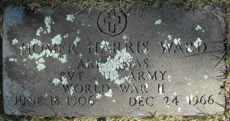WARD  (VETERAN  WWII), HOMER HARRIS - Faulkner County, Arkansas | HOMER HARRIS WARD  (VETERAN  WWII) - Arkansas Gravestone Photos