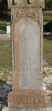 WARD, CORA - Faulkner County, Arkansas | CORA WARD - Arkansas Gravestone Photos