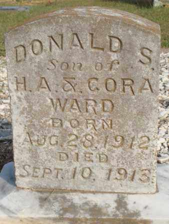 WARD, DONALD S. - Faulkner County, Arkansas | DONALD S. WARD - Arkansas Gravestone Photos