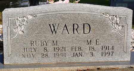 WARD, M. E. - Faulkner County, Arkansas | M. E. WARD - Arkansas Gravestone Photos