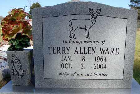 WARD, TERRY ALLEN - Faulkner County, Arkansas | TERRY ALLEN WARD - Arkansas Gravestone Photos