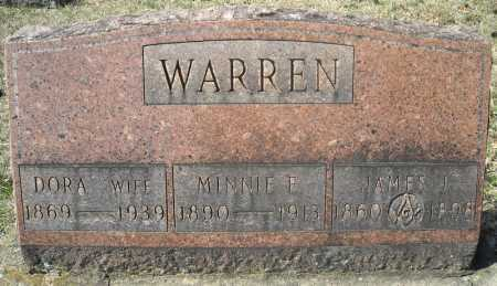 WARREN, JAMES J. - Faulkner County, Arkansas | JAMES J. WARREN - Arkansas Gravestone Photos