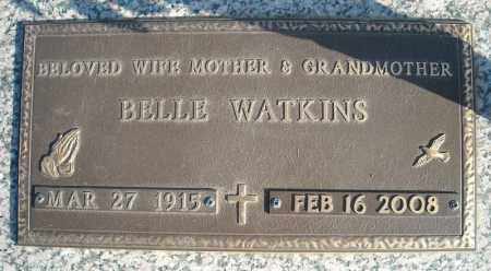 WATKINS, BELLE - Faulkner County, Arkansas | BELLE WATKINS - Arkansas Gravestone Photos