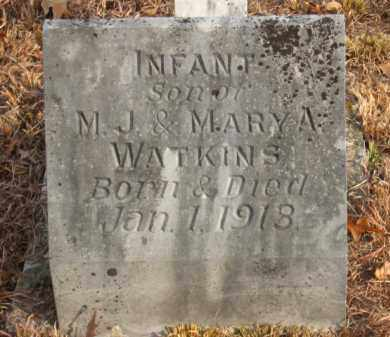 WATKINS, INFANT SON - Faulkner County, Arkansas | INFANT SON WATKINS - Arkansas Gravestone Photos