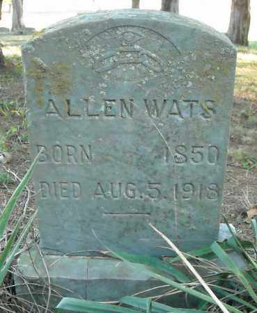 WATS, ALLEN - Faulkner County, Arkansas | ALLEN WATS - Arkansas Gravestone Photos