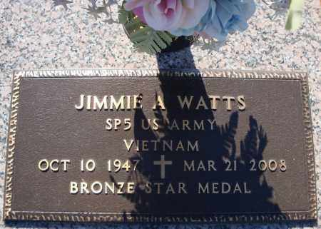 WATTS (VETERAN VIET), JIMMIE A - Faulkner County, Arkansas | JIMMIE A WATTS (VETERAN VIET) - Arkansas Gravestone Photos