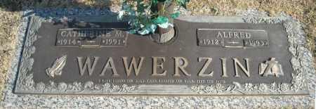 WAWERZIN, ALFRED - Faulkner County, Arkansas | ALFRED WAWERZIN - Arkansas Gravestone Photos