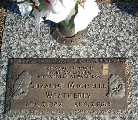 WEATHERLY, SUZANNE MICHELLE - Faulkner County, Arkansas | SUZANNE MICHELLE WEATHERLY - Arkansas Gravestone Photos